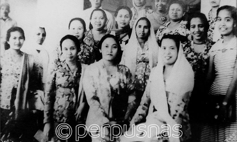 Kongres [gambar] : Kongres KOWANI II, th. 1952 di Bandung | OPAC ...